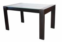 Трапезна маса със стъклено покритие