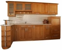 Кухненски мебели по поръчка от бук