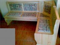 Кухненски ъгъл с ракла и размери 130/180см