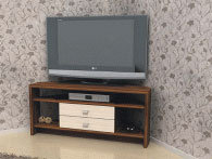 Ъглова ТВ поставка 1100/490/450мм