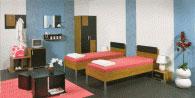 Спален комплект с две единични легла