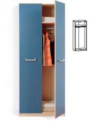 Двукрилен гардероб с размери 195,5/80/51,5см