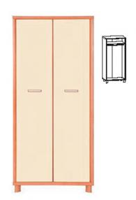 Модерен гардероб 194,5/90/63см