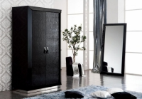 Луксозен двукрилен гардероб 120/66/210см