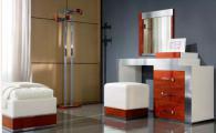 Тоалетка с огледало 137/50/160см