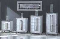 Модерен шкаф с 3 чекмеджета 60/43/74см