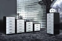 Модерен шкаф с 6 чекмеджета 60/43/117см