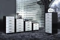 Модерен шкаф с 7 чекмеджета 60/43/133,8см