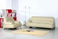Модерен двоен диван с фотьойл