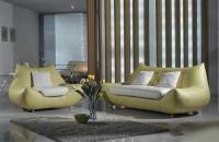 Дизайнерски диван в комплект с фотьойл