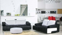 Двоен диван с табуретка