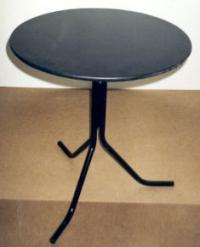 Черна кръгла маса