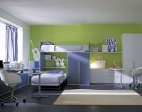 Двуетажно легло, детска стая за момчета