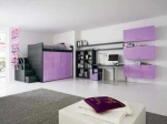Детска стая лилава