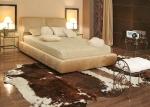 Легла с тапицирани нощни шкафчета
