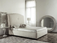 Легла с омекотени и тапицирани спални вносител