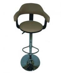 Бар стол с тапицирана седалка