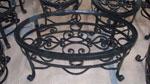 Градинска маса ковано желязо производител