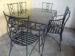 Маси и столове от кавано желязо лукс