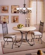 Столове за дома от ковано желязо вносител