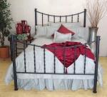 Дизайнерски спални ковано желязо луксозни