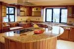 Проектиране и изработка на кухненски плот от мрамор