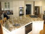 Изработка на нестандартен кухненски плот от мрамор