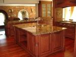 Луксозен кухненски плот от мрамор