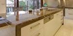 Луксозен кухненски плот мраморен