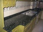 Луксозен кухненски плот - изработен от гранит