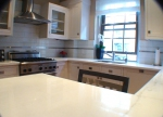 Правоъгълни мраморни кухненски плотове