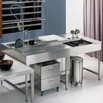 работни маси за кухня от инокс