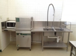 Иноксови мебели за професионална кухня