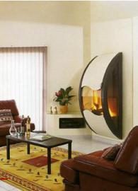 Съвременна камина с модерен дизайн