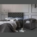 черно легло Chesterfield лукс