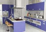 кухня с декорацией