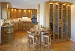 роскошь   кухня из дерева
