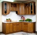 кухня с декорацией на заказ реализация