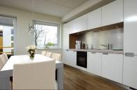 П-образные кухонные решения