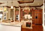 кухни с роскошным  видом производители
