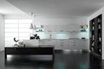 кухня с декорацией реализация