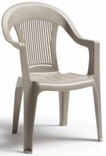 Пластмасова дизайнерски стол за открити пространства Пловдив