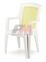 Пластмасови дизайнерски столове ЛУКС за открито в Пловдив