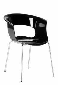 Дизайнерски стол с кожа или дамаска фирма