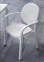 Пластмасови италиански столове ЛУКС с доставка в Пловдив