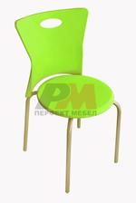 Пластмасова бар стол за открити пространства Пловдив