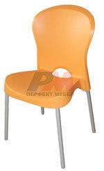 Пластмасови дизайнерски бар столове с различни плотове Пловдив