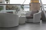 Екзотични маси и столове от ратан за интериор