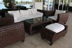 Маси и столове от ратан за хотел,придаващи стил и комфорт