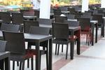 Мебели маси и столове ратан за лятно заведение